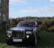 Rolls Royce Phantom - Black Hire in Wales